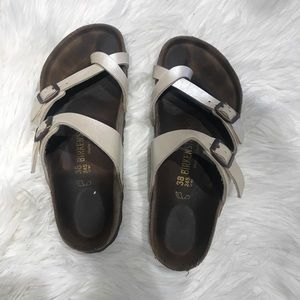 438f1ee809c8 NEW Italian shoemakers wedge sandal.  60  0. birkenstocks